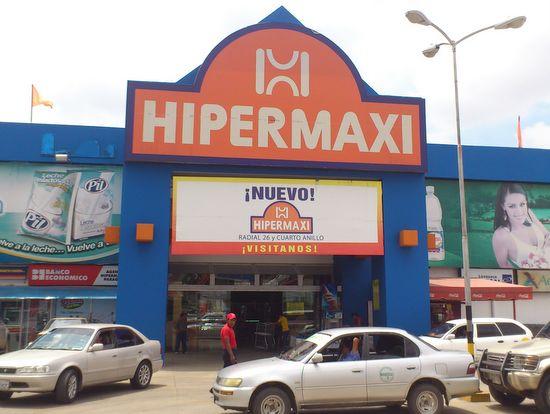 Hipermaxi en Santa Cruz de la Sierra